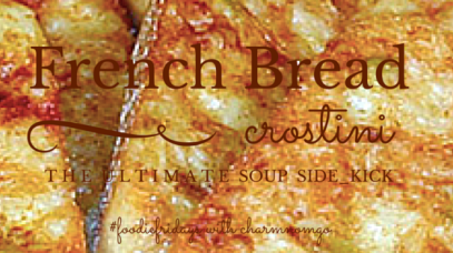 French bread crostini